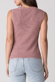 Margaret O'Leary Thermal Cowl Tank - Side cropped