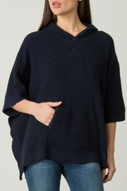 Margaret O'Leary Thermal Poncho - Front full body