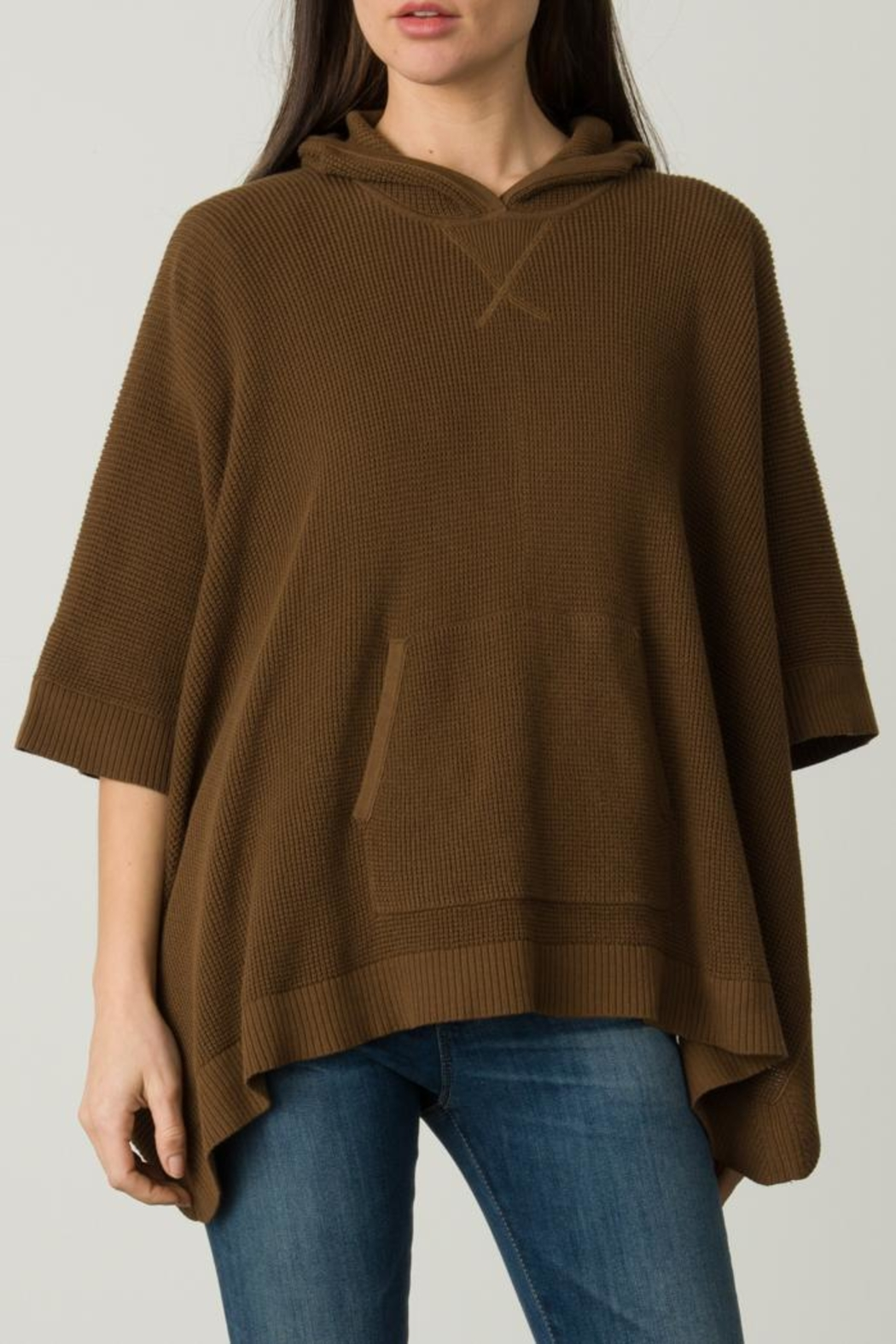 Margaret O'Leary Thermal Poncho - Front Full Image