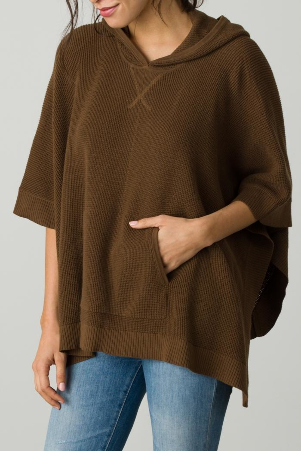 Margaret O'Leary Thermal Poncho - Front Cropped Image