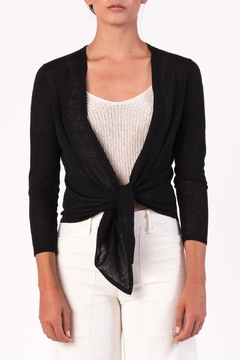 Margaret O'Leary Tie Front Cardigan - Product List Image