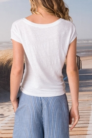 Margaret O'Leary Tie Front Tee - Front full body