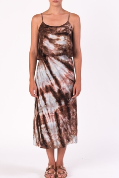 Margaret O'Leary Tiered Tie Dye Dress - Product List Image
