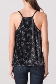 Margaret O'Leary Velvet Cami - Back cropped