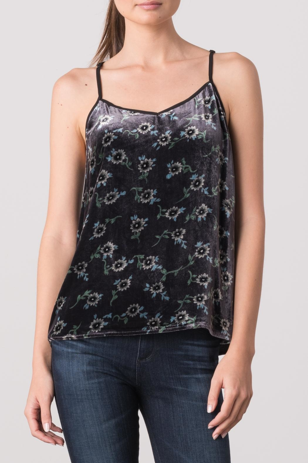 Margaret O'Leary Velvet Cami - Front Cropped Image