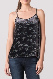 Margaret O'Leary Velvet Cami - Front cropped