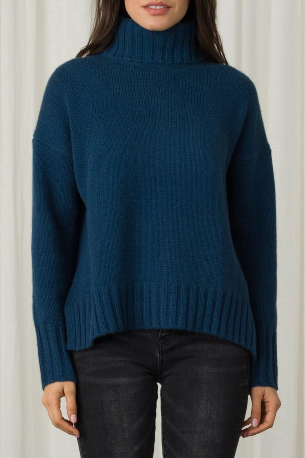 Margaret O'Leary Vera Turtleneck - Front Cropped Image