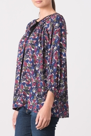 Margaret O'Leary Yasmin Peasant Top - Front full body