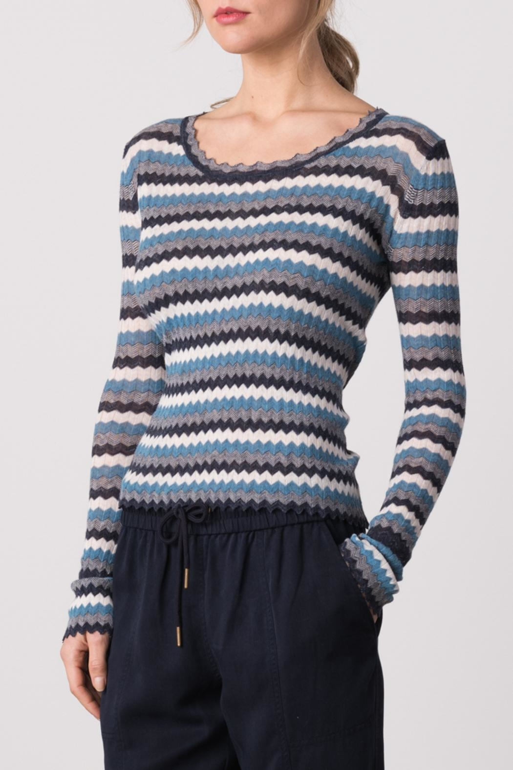 Margaret O'Leary Yohana Pullover Top - Front Cropped Image