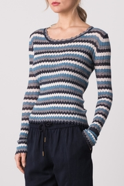 Margaret O'Leary Yohana Pullover Top - Front cropped
