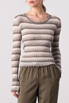 Margaret O'Leary Yohana Pullover Top - Product List Image