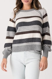 Margaret O'Leary Zoey Striped Crew - Front cropped