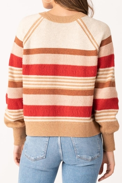 Margaret O'Leary Zoey Striped Crew - Alternate List Image