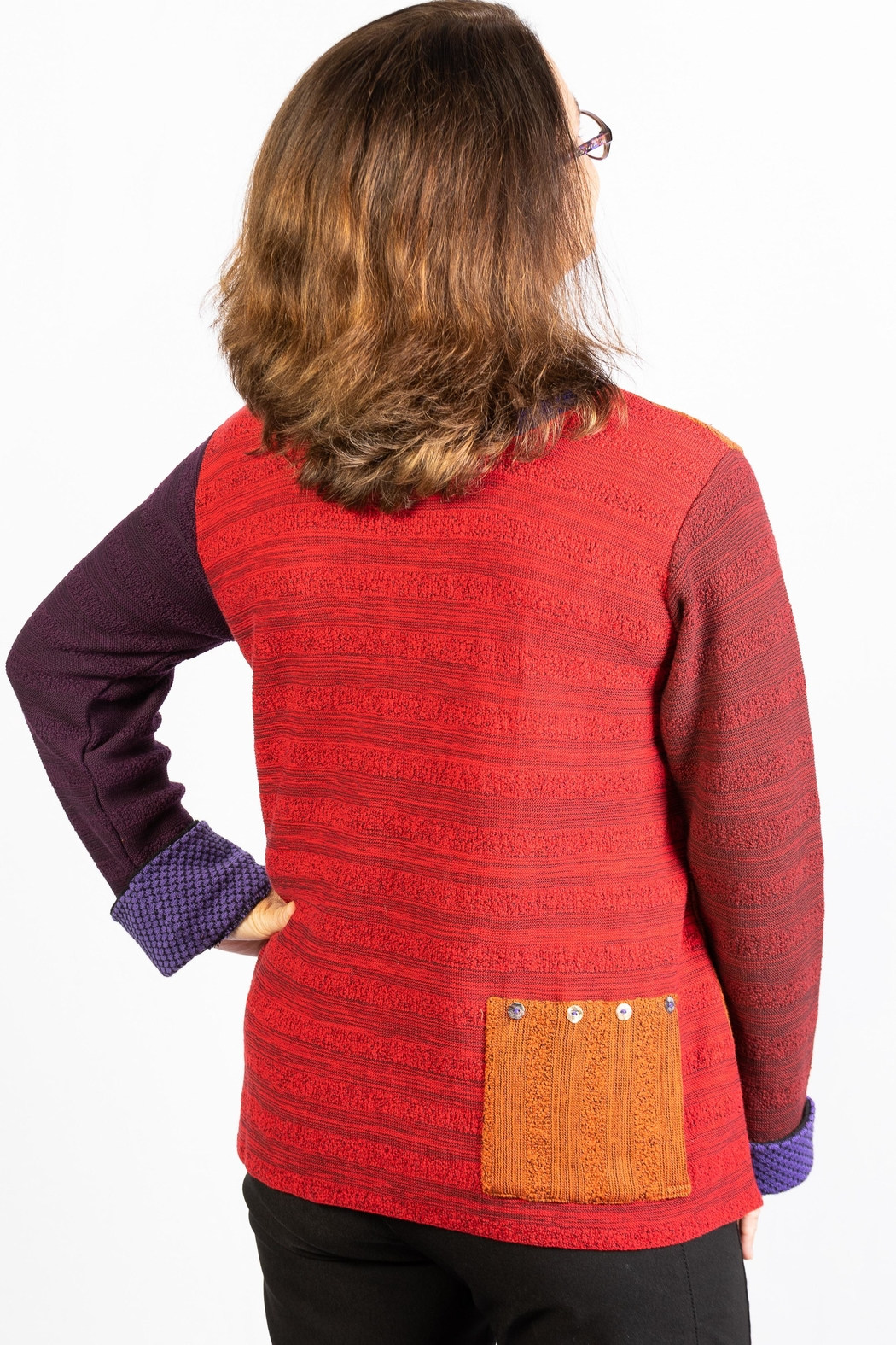 Margaret Winters Reversible  Tunic - Front Full Image