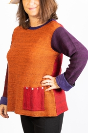Margaret Winters Reversible  Tunic - Front cropped