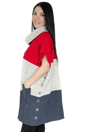 Margaret Winters Tweeded Cotton Tunic - Product Mini Image