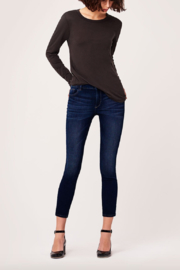 DL1961 Margaux Mid Rise Ankle Skinny in Salt Creek - Product Mini Image