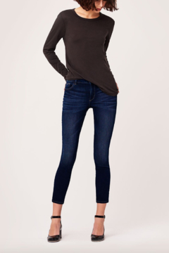 DL1961 Margaux Mid Rise Ankle Skinny in Salt Creek - Product List Image
