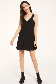 Z Supply  Margo Rib Button Up Dress - Product List Image
