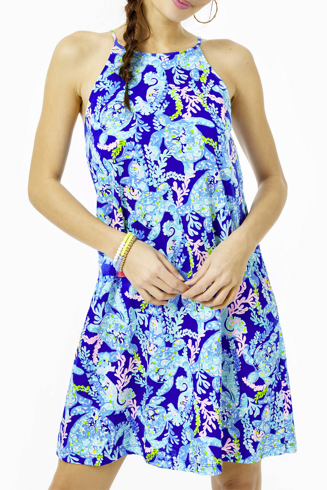 Lilly Pulitzer  Margot Swing Dress - Front Cropped Image