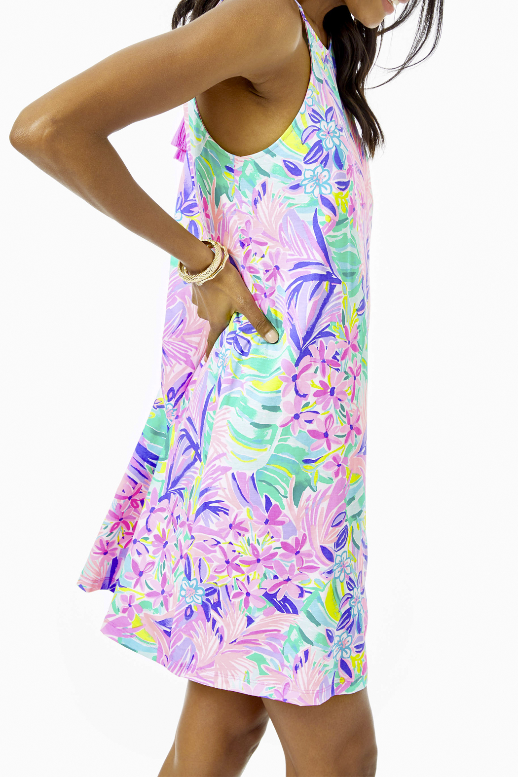 Lilly Pulitzer  Margot Swing Dress - Front Full Image