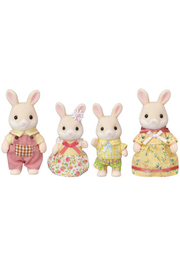 Calico Critters Marguerite Rabbit Family - Front cropped