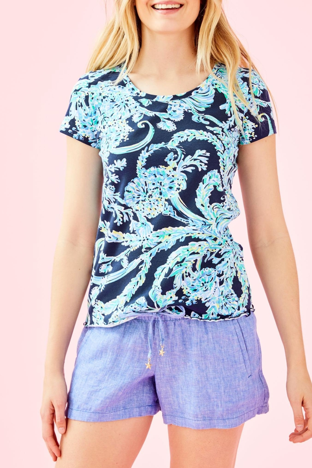 Lilly Pulitzer Mari Top - Main Image