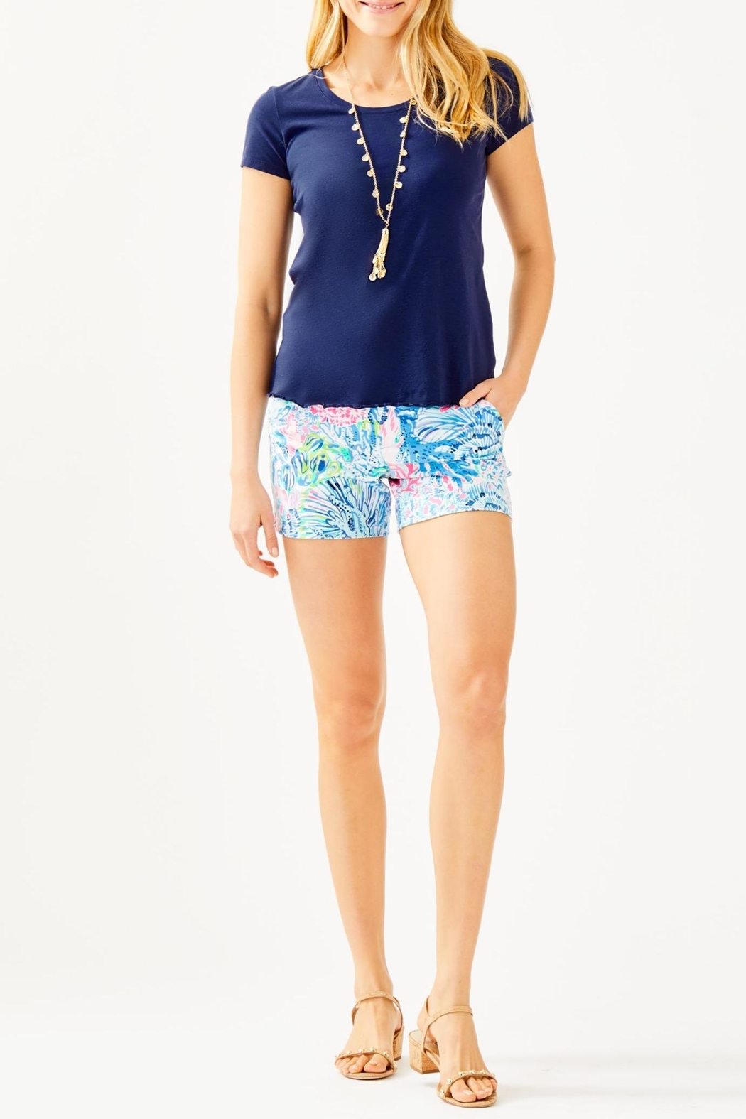 Lilly Pulitzer Mari Top - Side Cropped Image