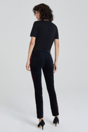 Adriano Goldschmied Mari Tuxedo Stripe Pants - Other