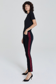 Adriano Goldschmied Mari Tuxedo Stripe Pants - Front cropped
