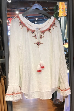 Johnny Was Maria Emb Blouse - Product List Image