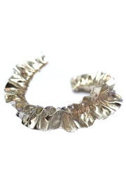 Maria Guenther Gathered Silver Bracelet - Product Mini Image