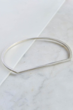 Maria Guenther Minimalistic Bangle Silver - Product List Image