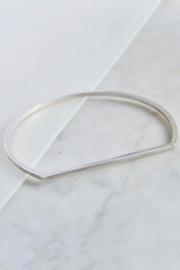 Maria Guenther Minimalistic Bangle Silver - Product Mini Image