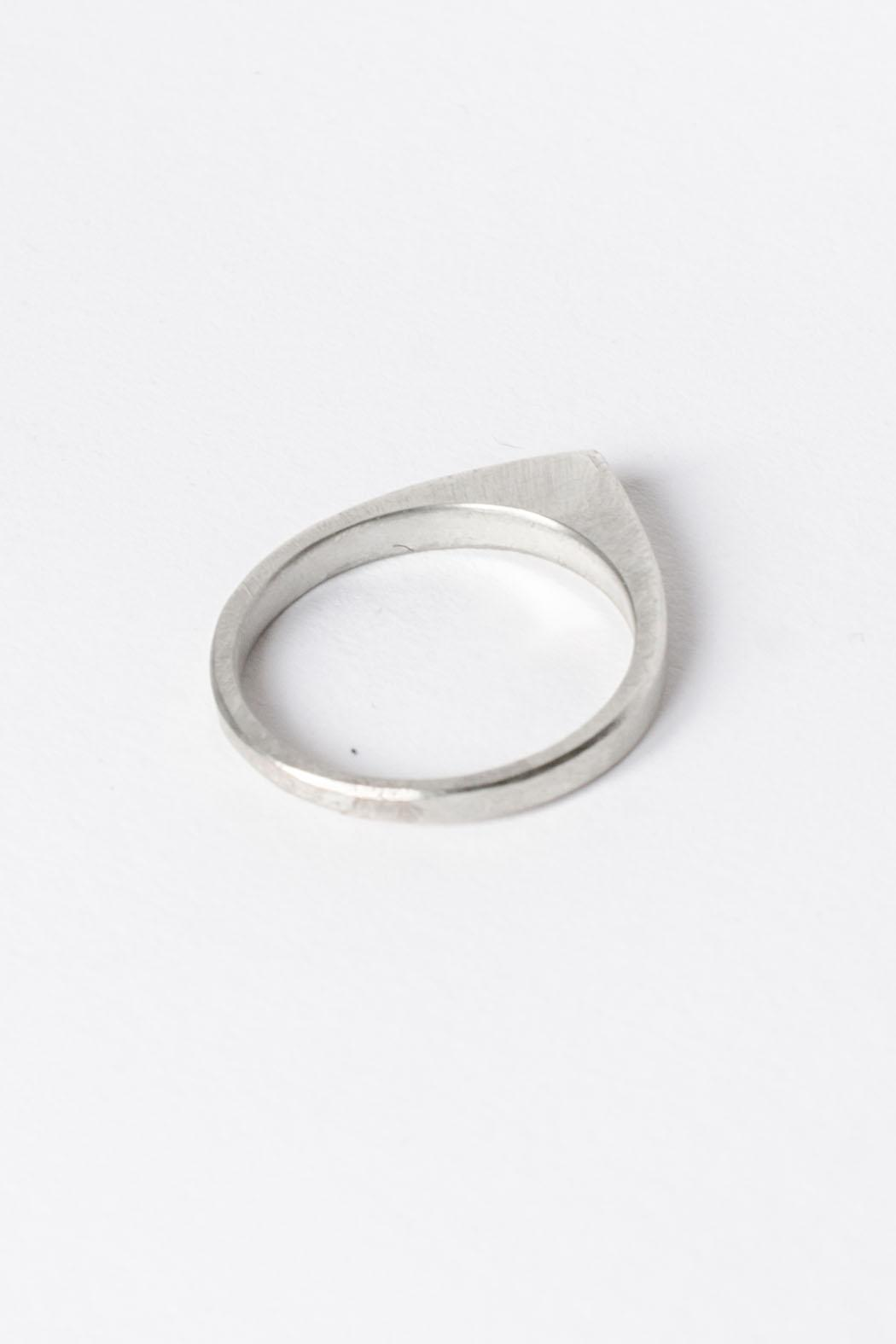Maria Guenther Silver Peak Ring - Side Cropped Image