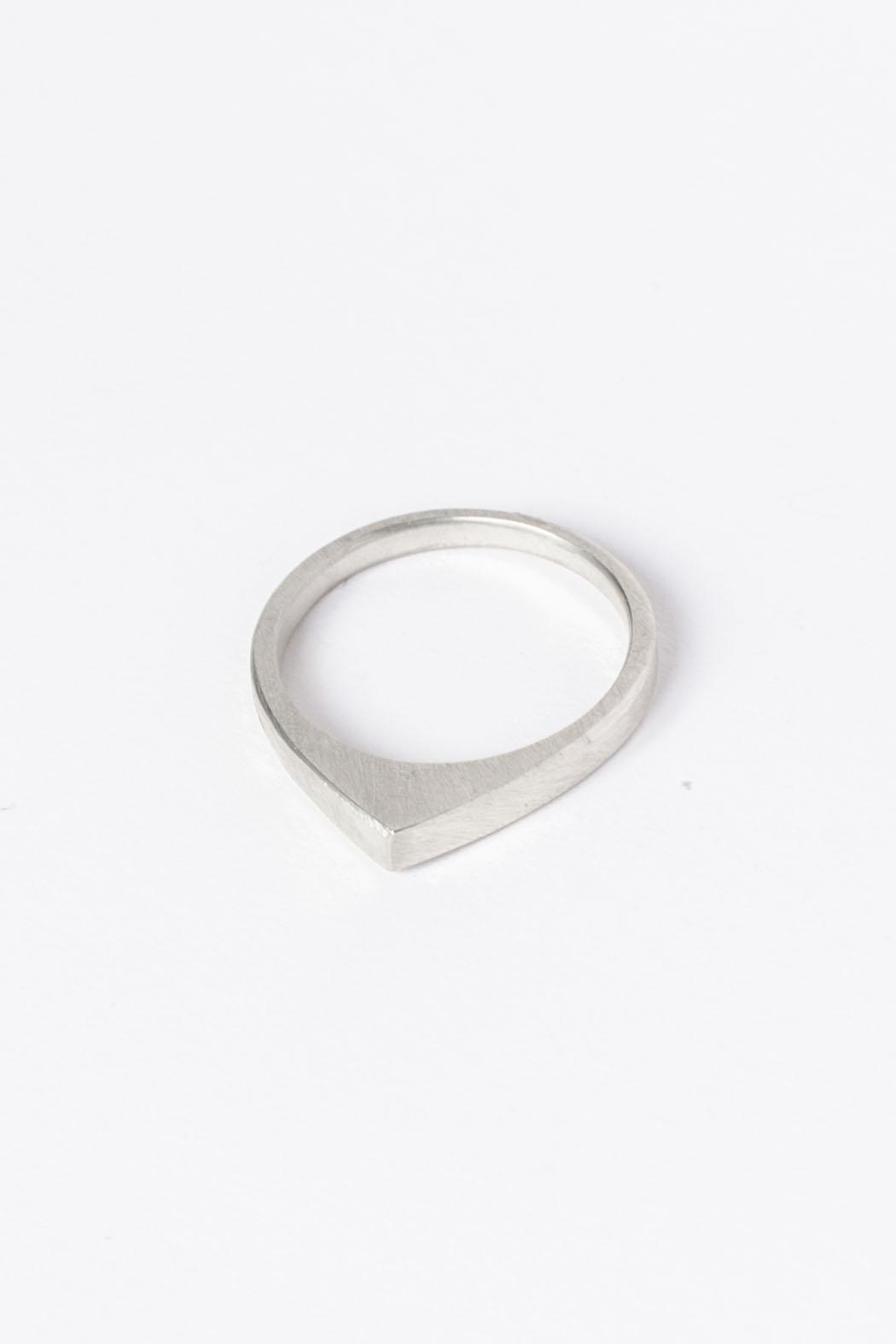 Maria Guenther Silver Peak Ring - Front Full Image