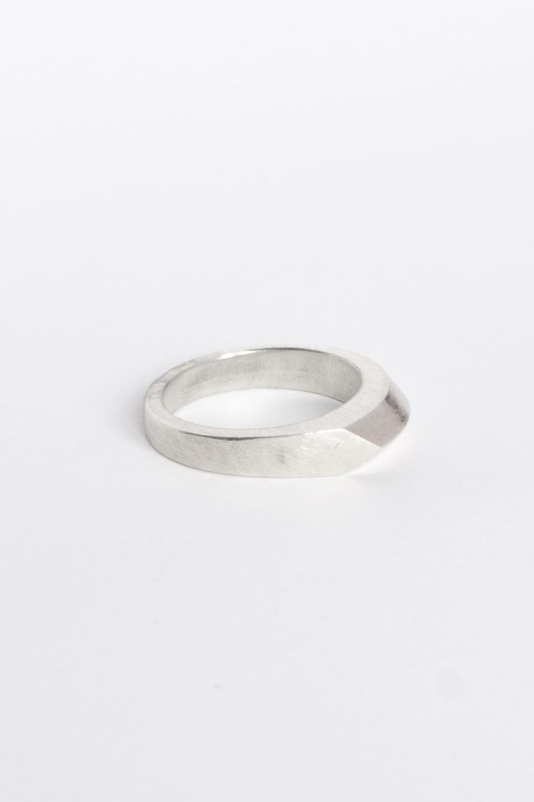 Maria Guenther Silver Ring - Side Cropped Image