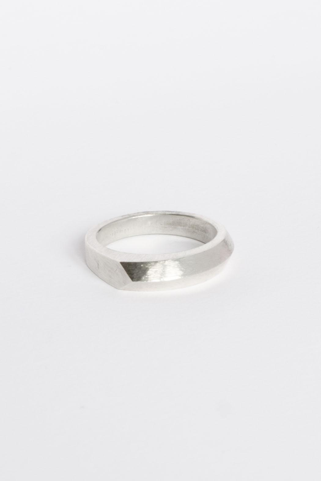 Maria Guenther Silver Ring - Front Full Image