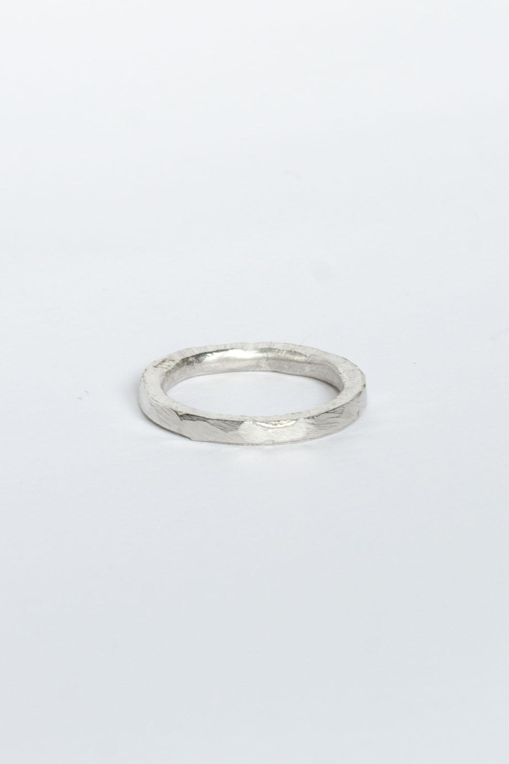 Maria Guenther Silver Sculpted Ring - Main Image