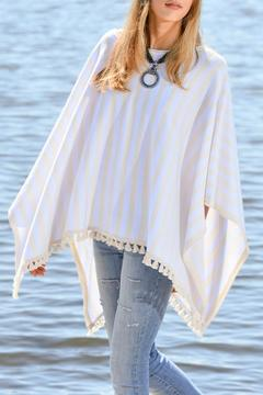 Shoptiques Product: Striped Casual Poncho