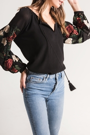 Black Swan Mariah Embroidered Top - Product Mini Image