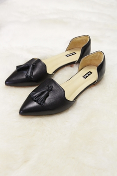 Be Mae Shoes Mariah Leather Flats - Alternate List Image