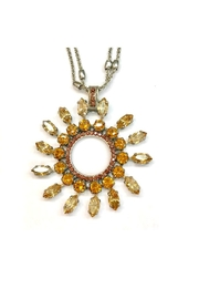 Mariana Amber Swarovski Necklace - Front full body