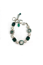 Mariana Green Clear Swarovski Bracelet - Product Mini Image