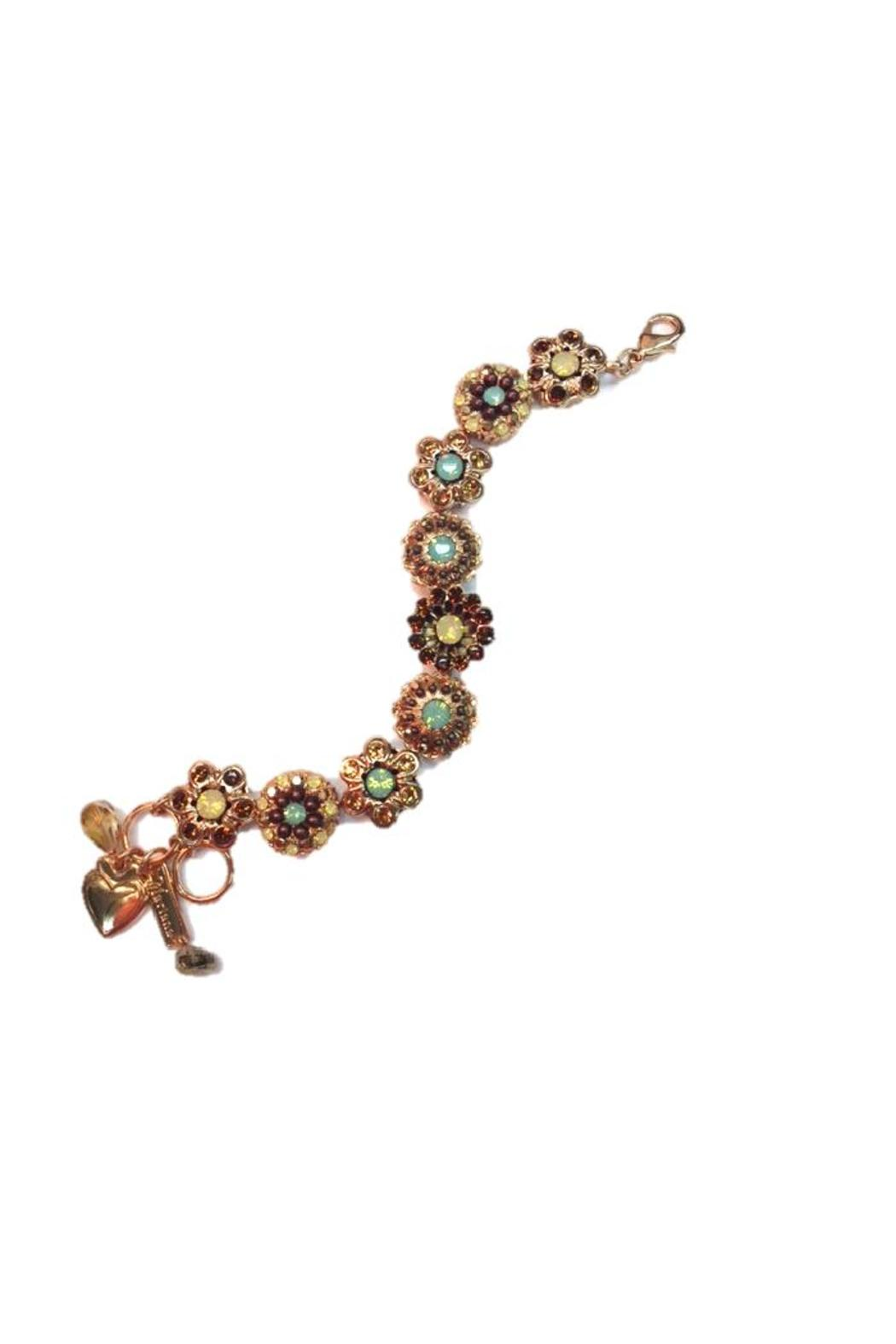 mariana rosegold swarovski bracelet from ohio by hartwell. Black Bedroom Furniture Sets. Home Design Ideas