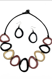 Organic Tagua Jewelry Marianitas Necklace Set - Product Mini Image