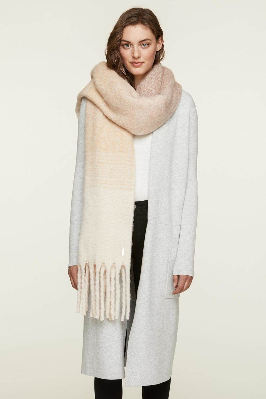 Soia & Kyo Maribel Woven Scarf - Front Cropped Image