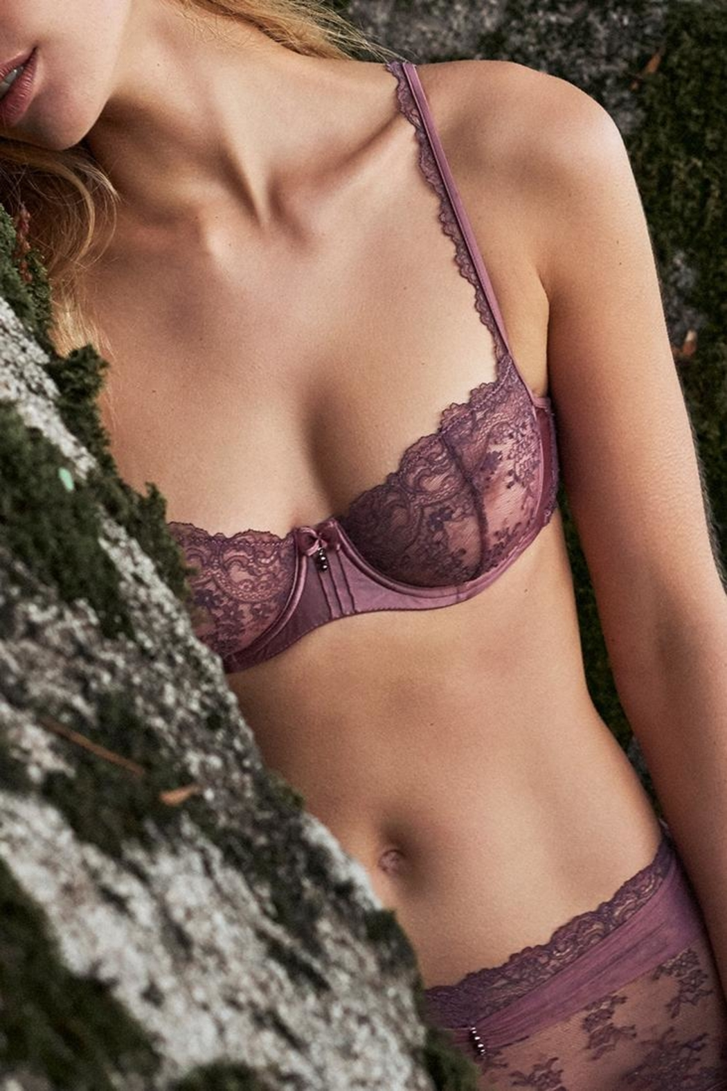 Marie Jo Dauphine Lace Demi - Front Full Image
