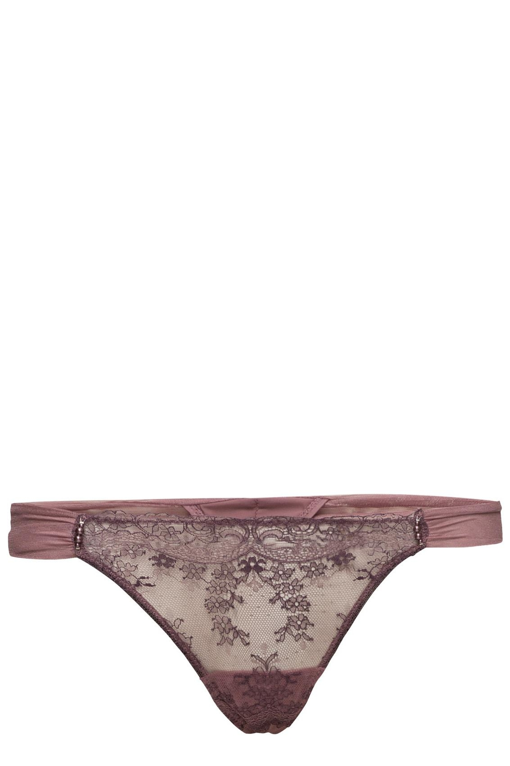 Marie Jo Dauphine Lace Thong - Back Cropped Image