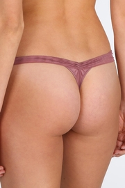 Marie Jo Dauphine Lace Thong - Side cropped
